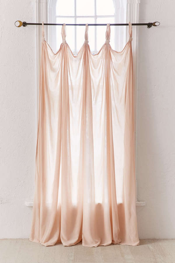 Slide View: 3: Knotted Window Curtain