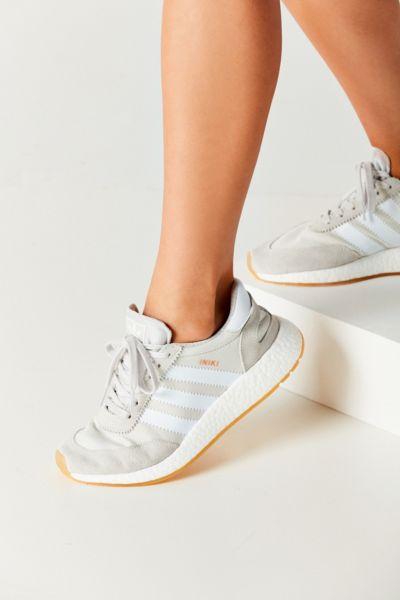 adidas Originals Iniki Boost Running Sneaker - Grey 8 1/2 at Urban Outfitters