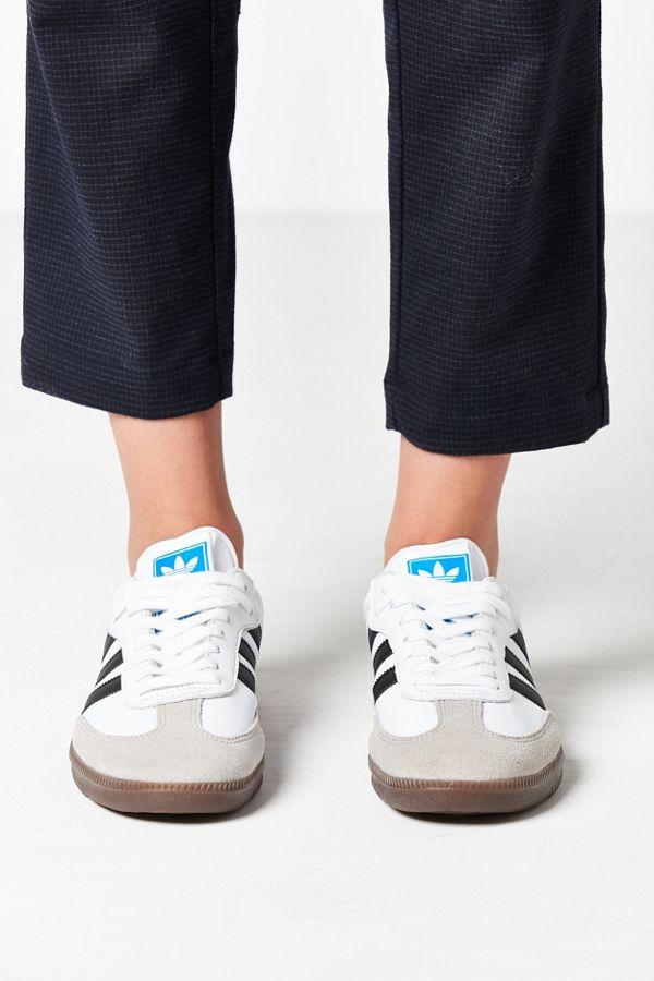 Slide View: 5: adidas Originals Samba Leather Sneaker