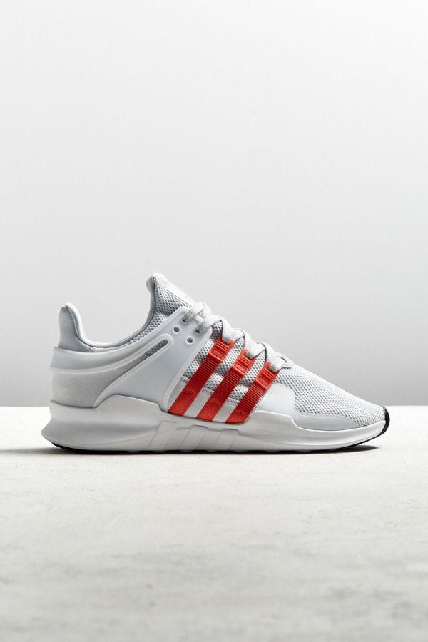 best website ade1c 469b7 ... czech adidas eqt support adv white orange sneaker 4d927 f8ffe