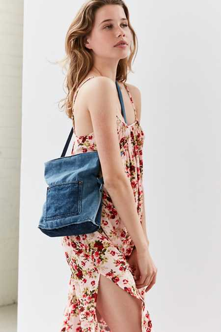 Linda Denim Crossbody Bag