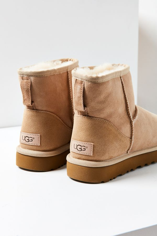 ugg mini  UGG Classic II Mini Ankle Boot   Urban Outfitters