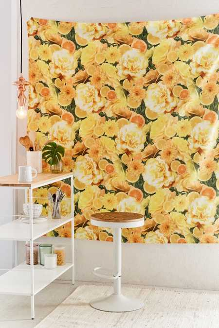 Citrus Picnic Tapestry