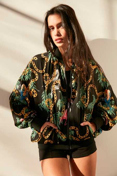 Pomme Chan X UO Printed Bomber Jacket