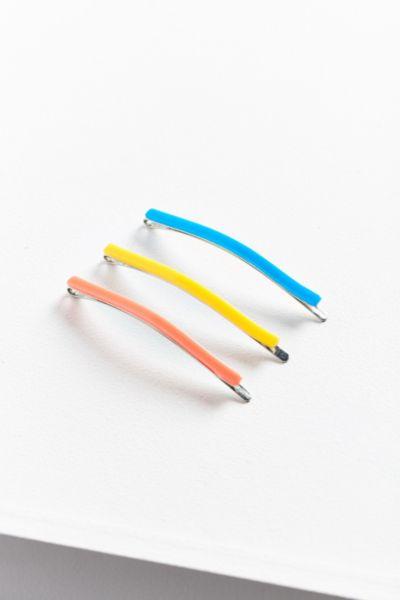 Electric Enamel Bobby Pin Set