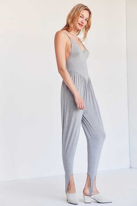 Silence + Noise Stir It Up Stirrup Jumpsuit