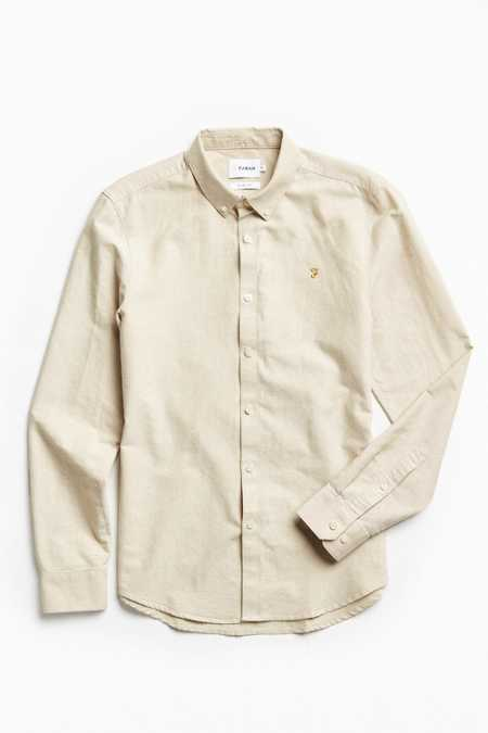 Farah Brewer Button-Down Shirt