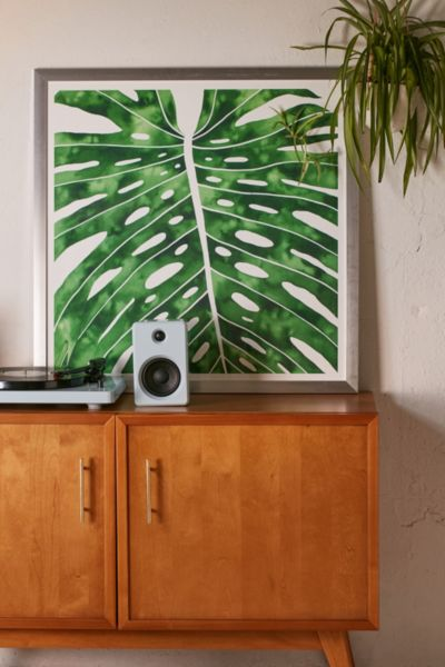 Living Pattern Monstera Art Print