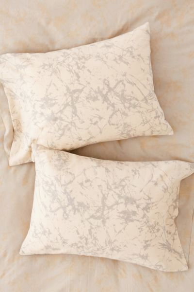 Batik Crackle Pillowcase Set - Multi One Size at Urban Outfitters