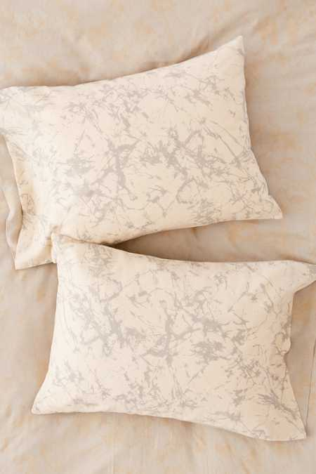 Batik Crackle Pillowcase Set