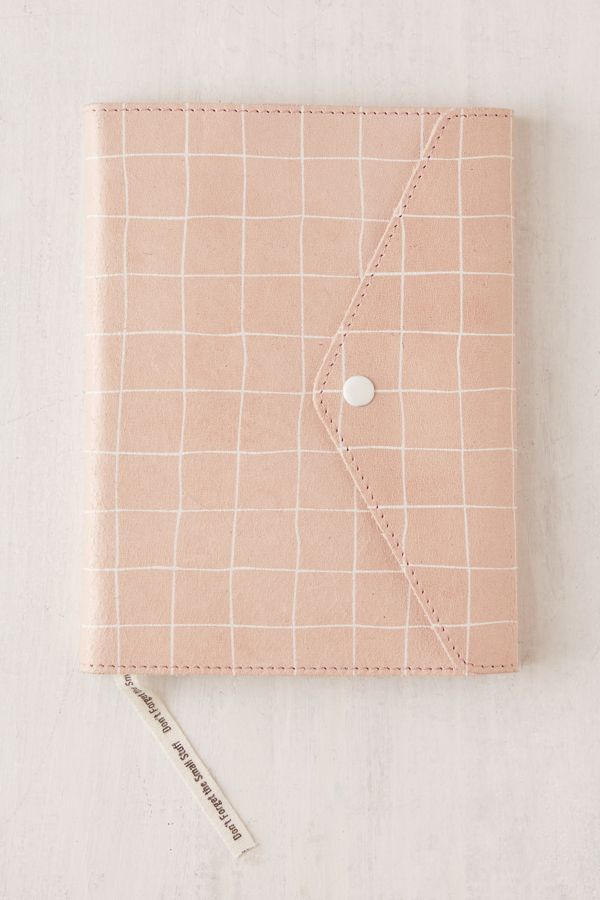 Mini Oh Snap Printed Leather Journal