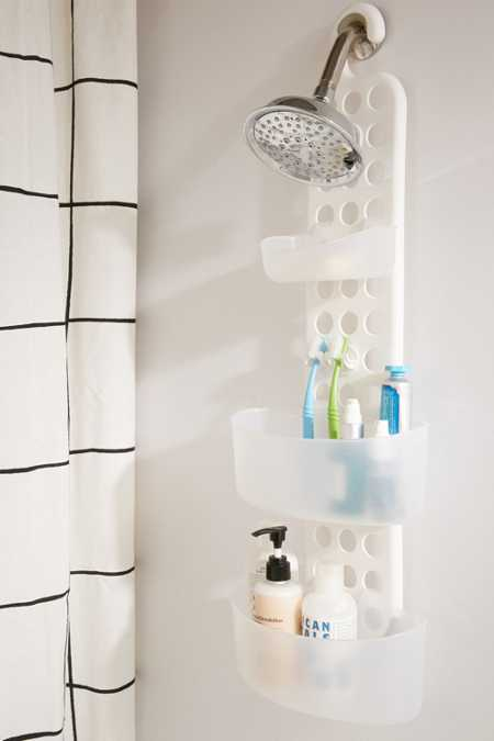 Adjustable Tiered Shower Caddy