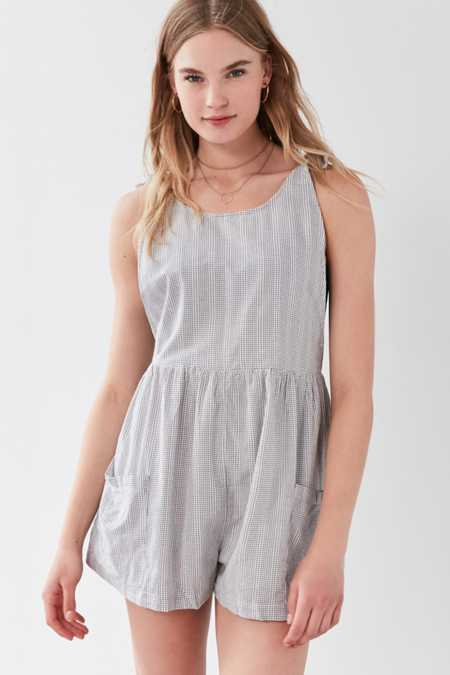 Cooperative Rainy Drop Armhole Romper