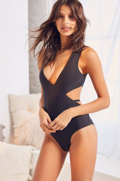 Out From Under Chesney Bodysuit - Black M at Urban Outfitters