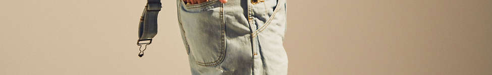 Thumbnail View 3: BDG Destructed Ice Wash Denim Overall