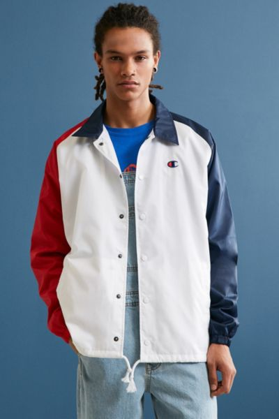 Champion Colorblocked Coach Jacket