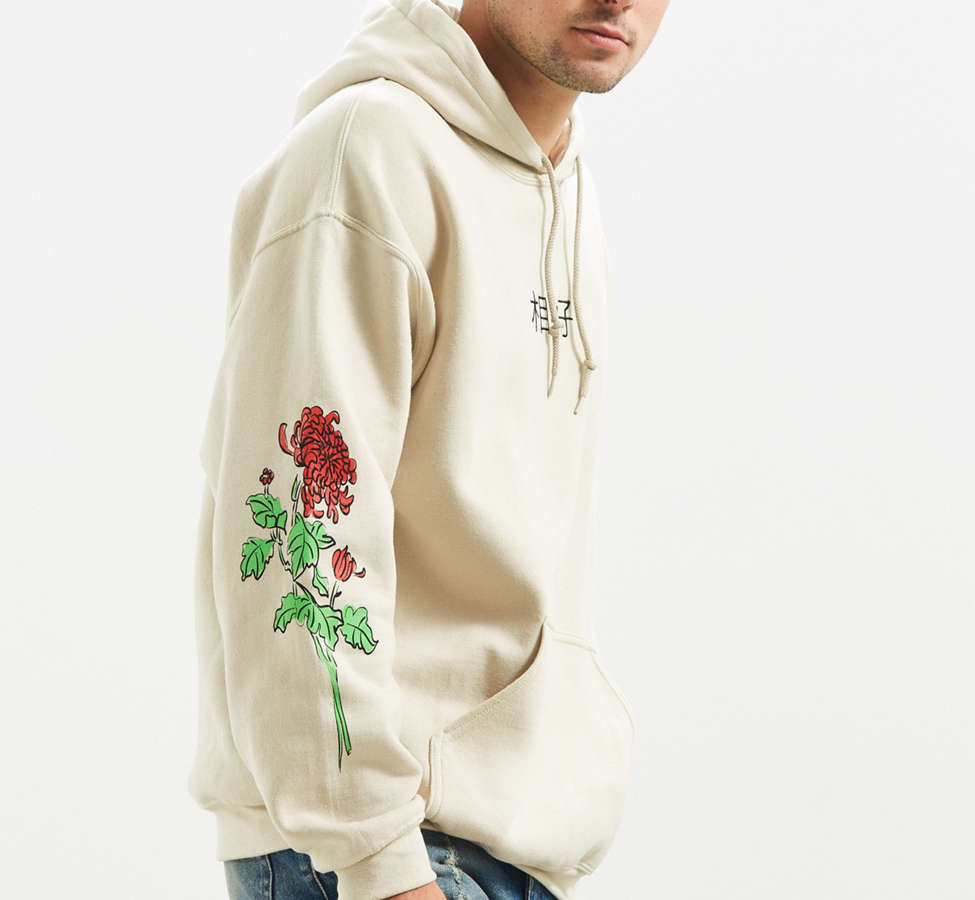 Slide View: 3: Floral Days Hoodie Sweatshirt