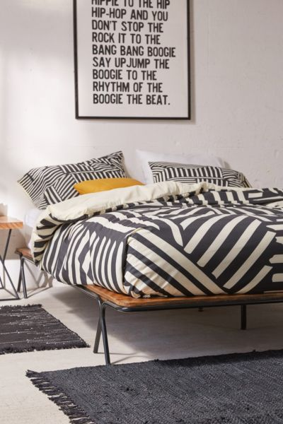 Price Metal Frame Platform Bed Urban Outfitters