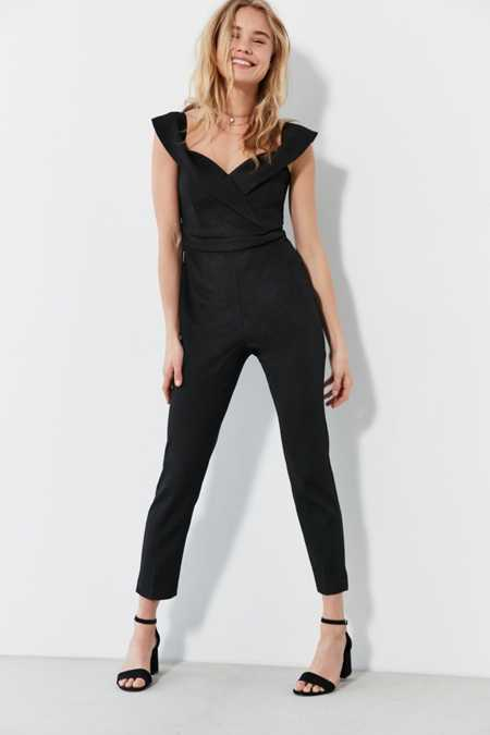 Bardot Bella Off-The-Shoulder Jumpsuit