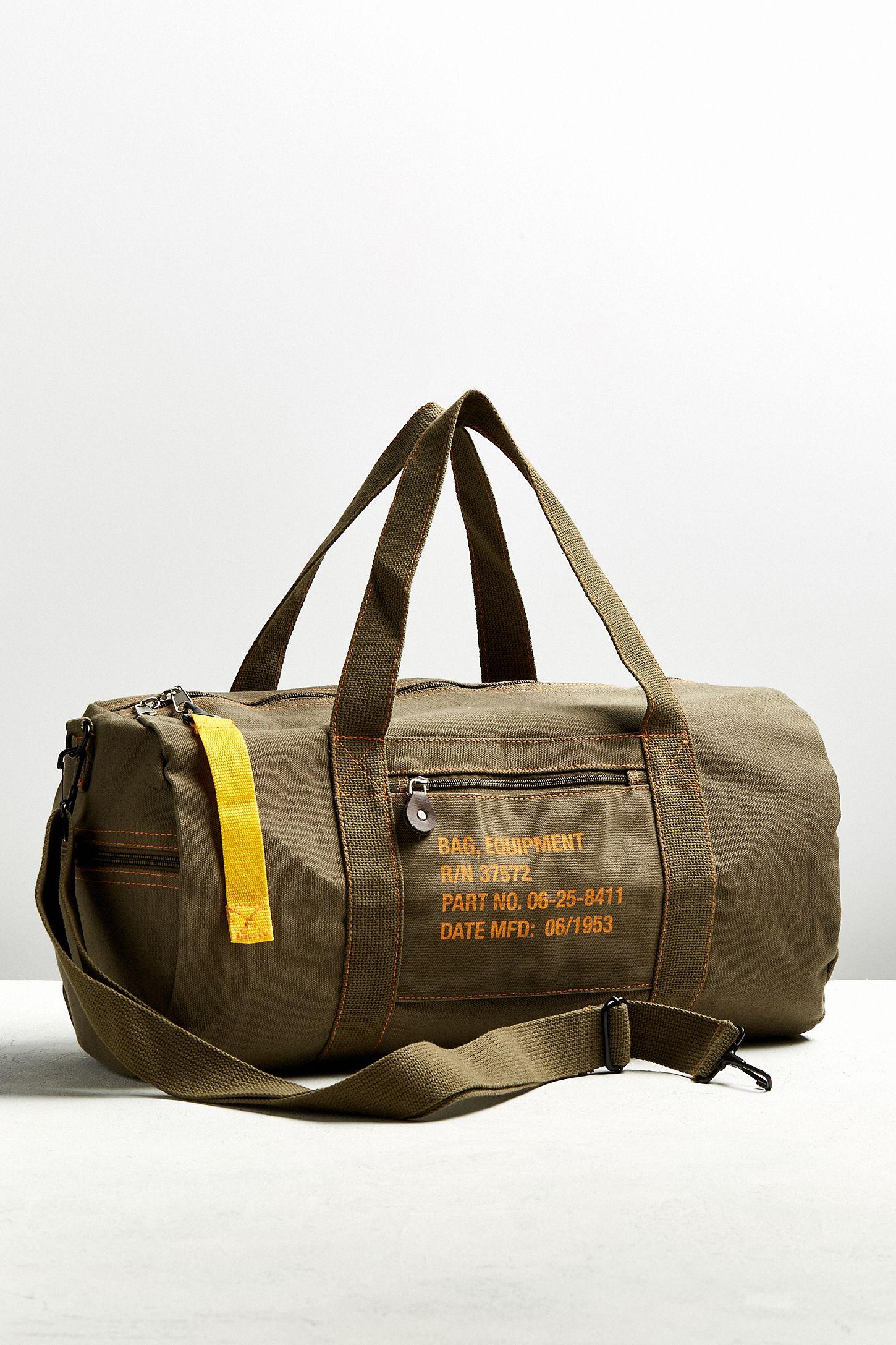 Rothco Canvas Equipment Duffle Bag  4d59a46b17938