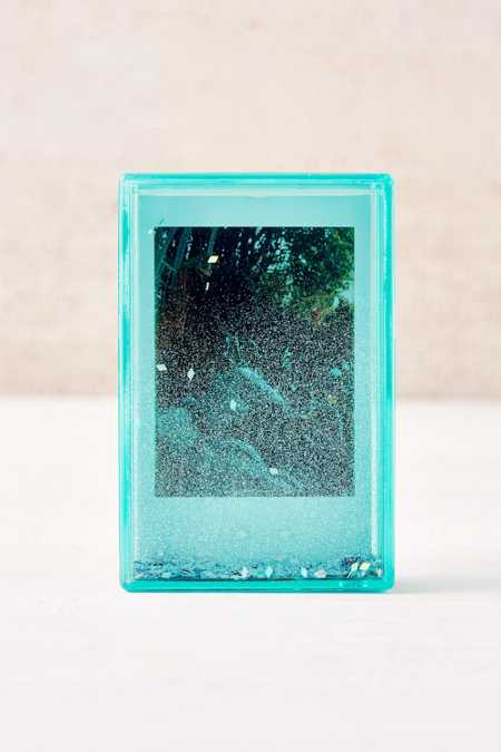Mini Instax Green Glitter Picture Frame