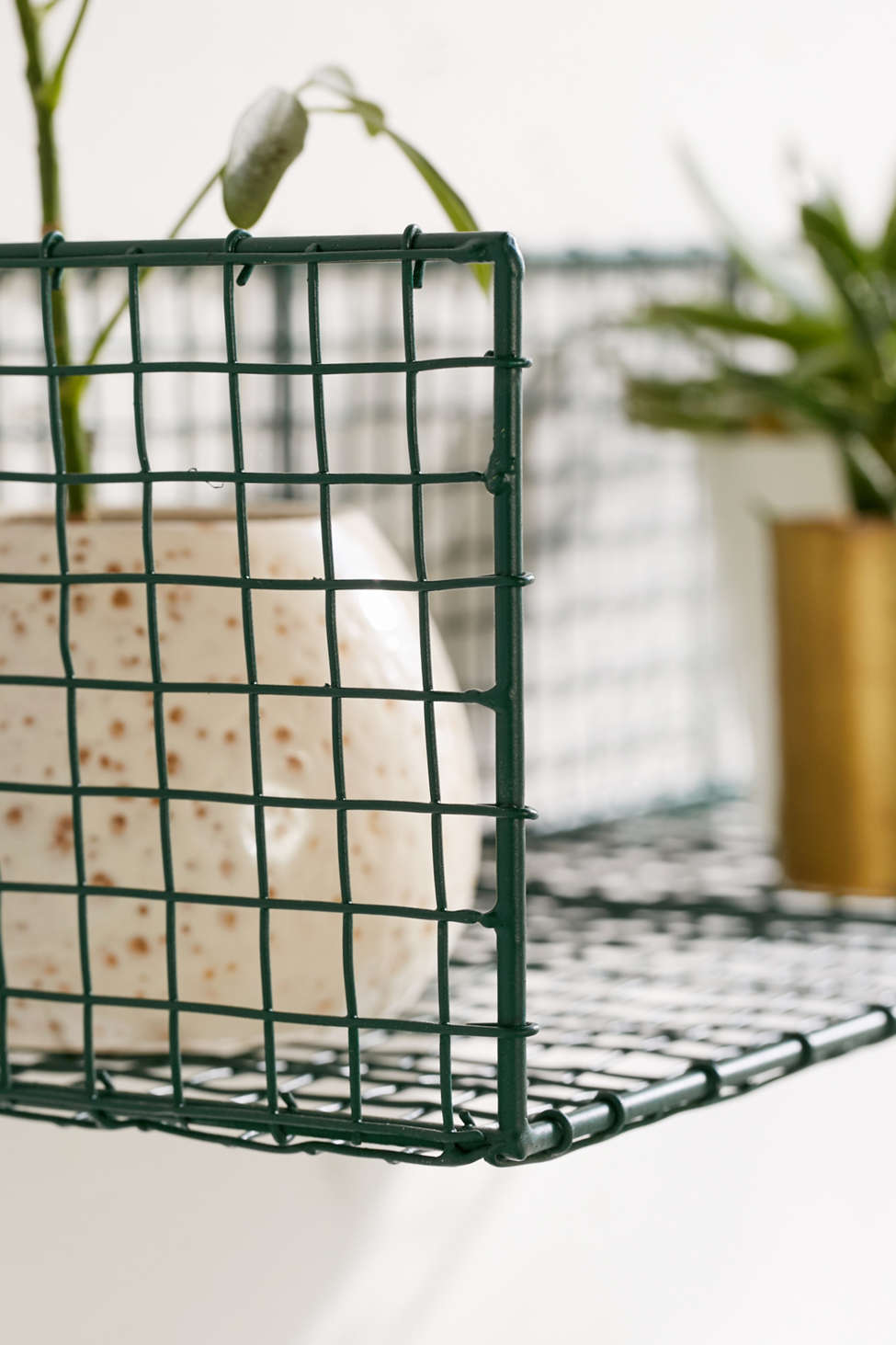 Metal Grid Wall caleb wire grid wall shelf | urban outfitters