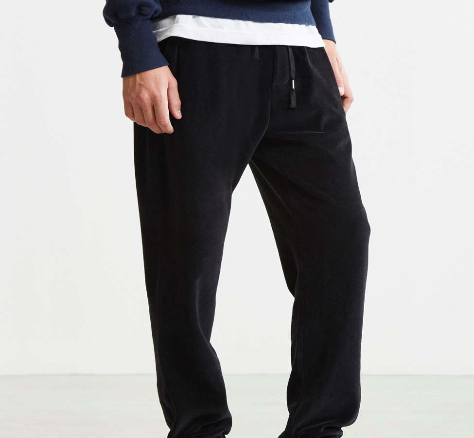 Slide View: 1: UO Velour Jogger Pant