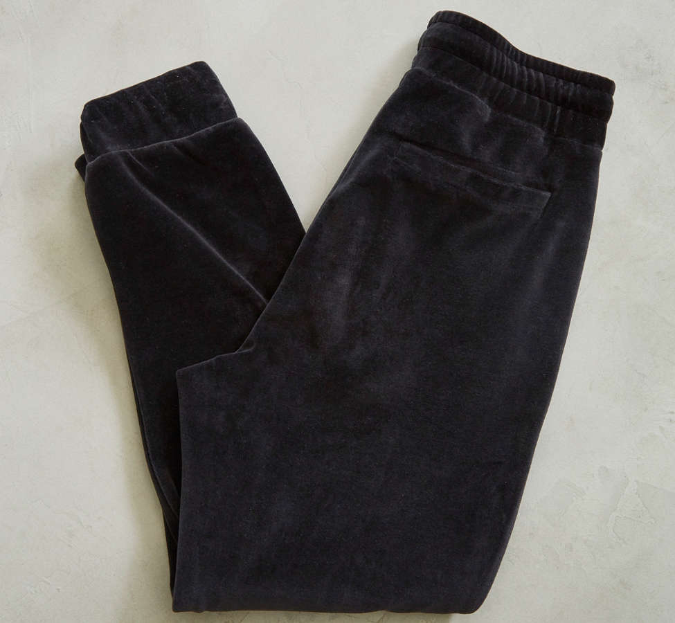 Slide View: 2: UO Velour Jogger Pant