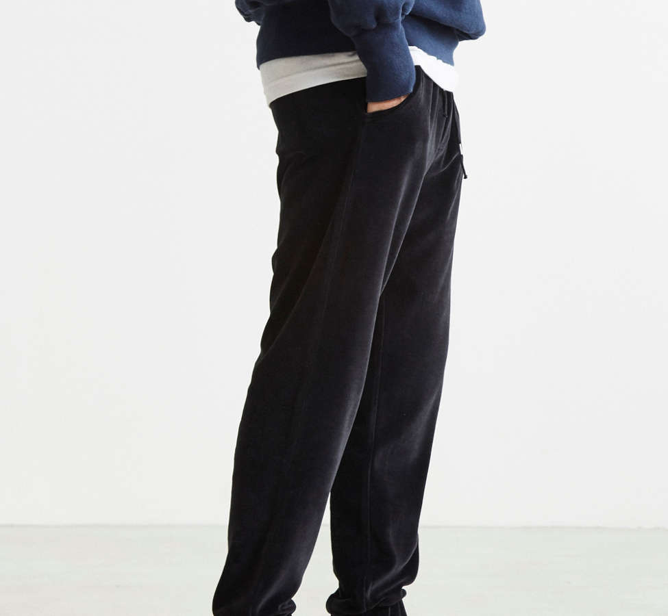 Slide View: 3: UO Velour Jogger Pant