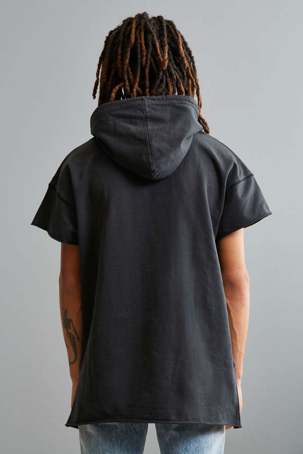 UO Faded Short Sleeve Hoodie Sweatshirt | Urban Outfitters