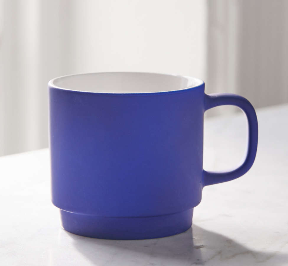 Slide View: 3: Neon Stackable Mug