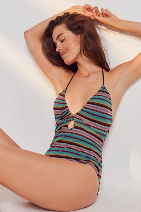 Out From Under Eva Keyhole One-Piece Swimsuit