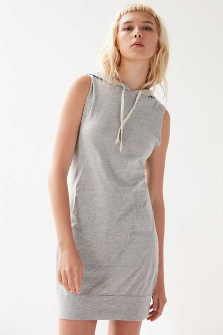 Truly Madly Deeply Shrunken Hoodie Dress