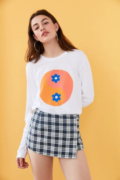 Future State Floral Yin-Yang Long-Sleeve Tee