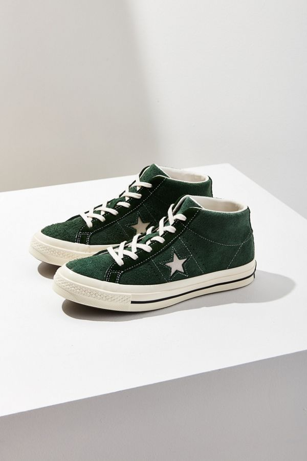 6dce27f1a10 Converse Cons One Star Pro Suede Mid Top Sneaker