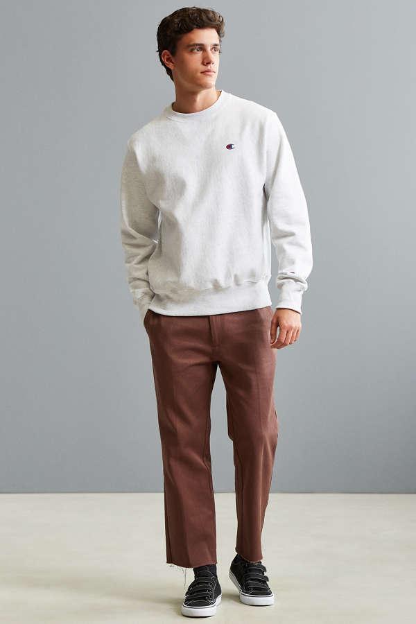 Champion Reverse Weave Fleece Crew Neck Sweatshirt | Urban Outfitters
