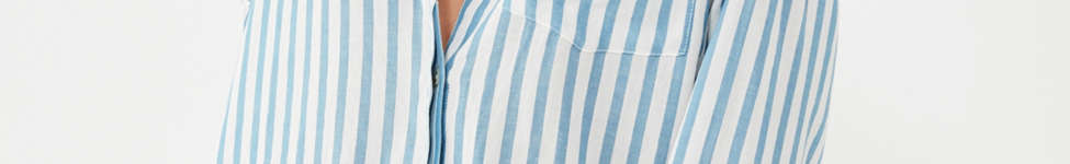 Thumbnail View 4: BDG Striped Twill Button-Down Shirt