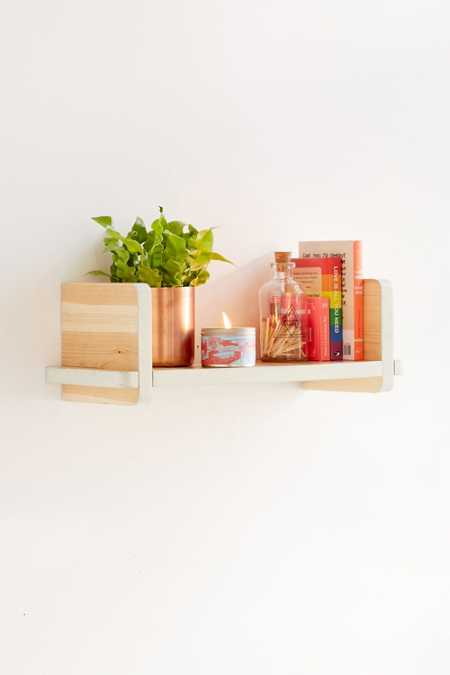 Adrian Wooden Shelf