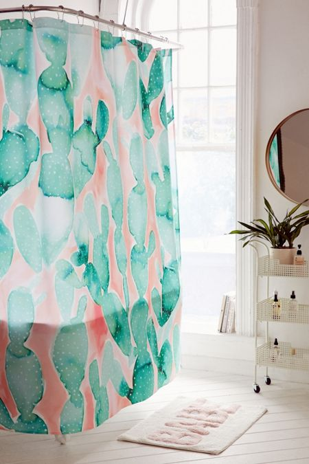 Jacqueline Maldonado For Deny Paddle Cactus Shower Curtain