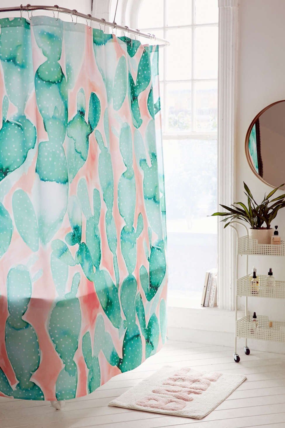 Slide View: 1: Jacqueline Maldonado For Deny Paddle Cactus Shower Curtain