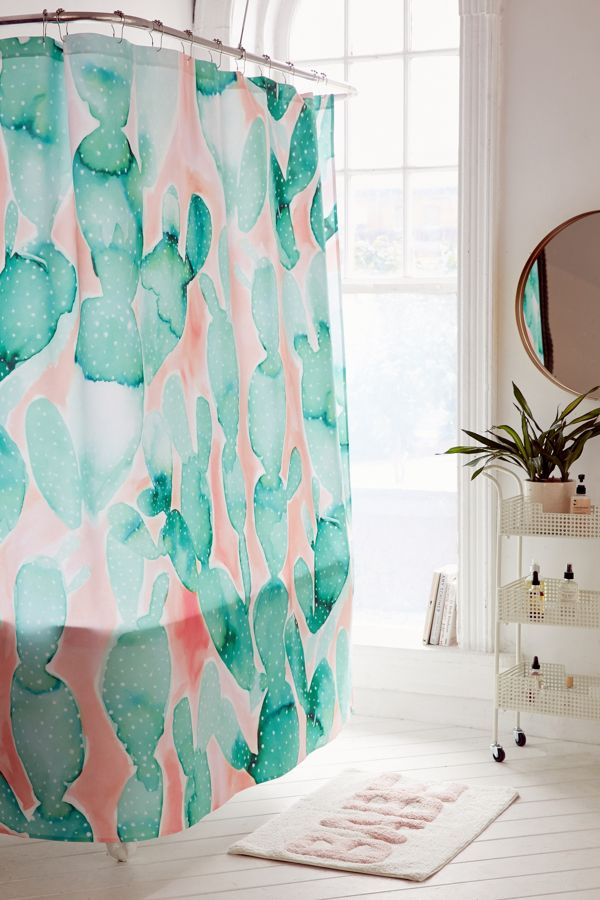 Jacqueline Maldonado For Deny Paddle Cactus Shower Curtain | Urban ...
