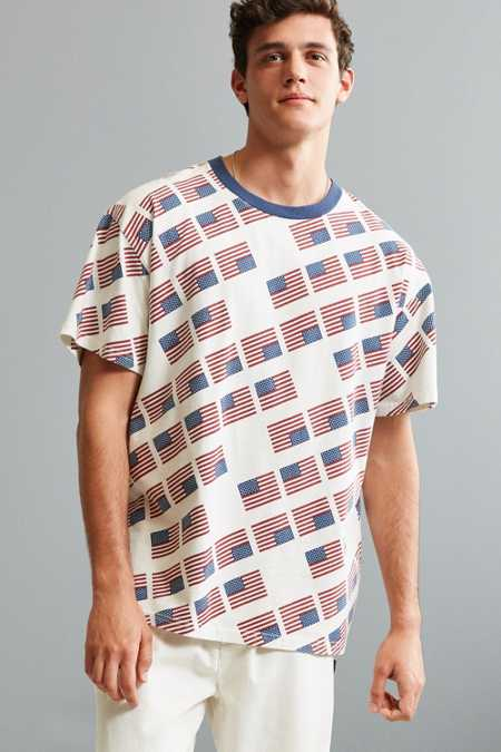 UO Carlton Printed Dad Tee