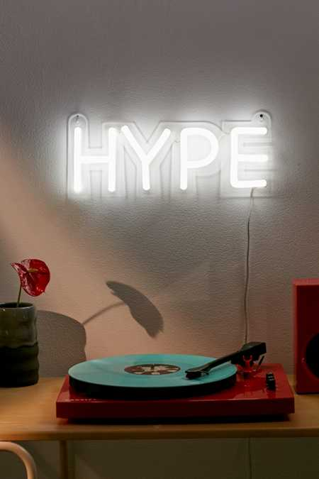 Hype Neon Sign