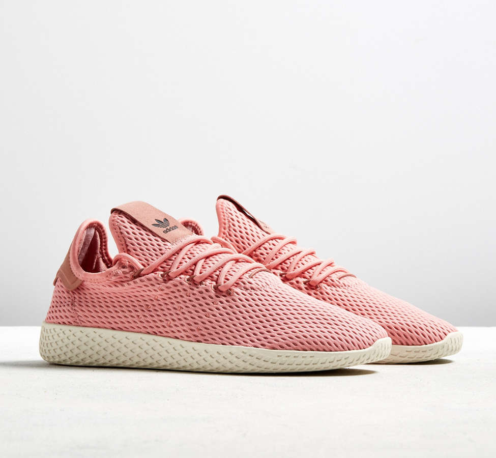 Slide View: 1: adidas Pharrell Williams Tennis HU Pastel Sneaker