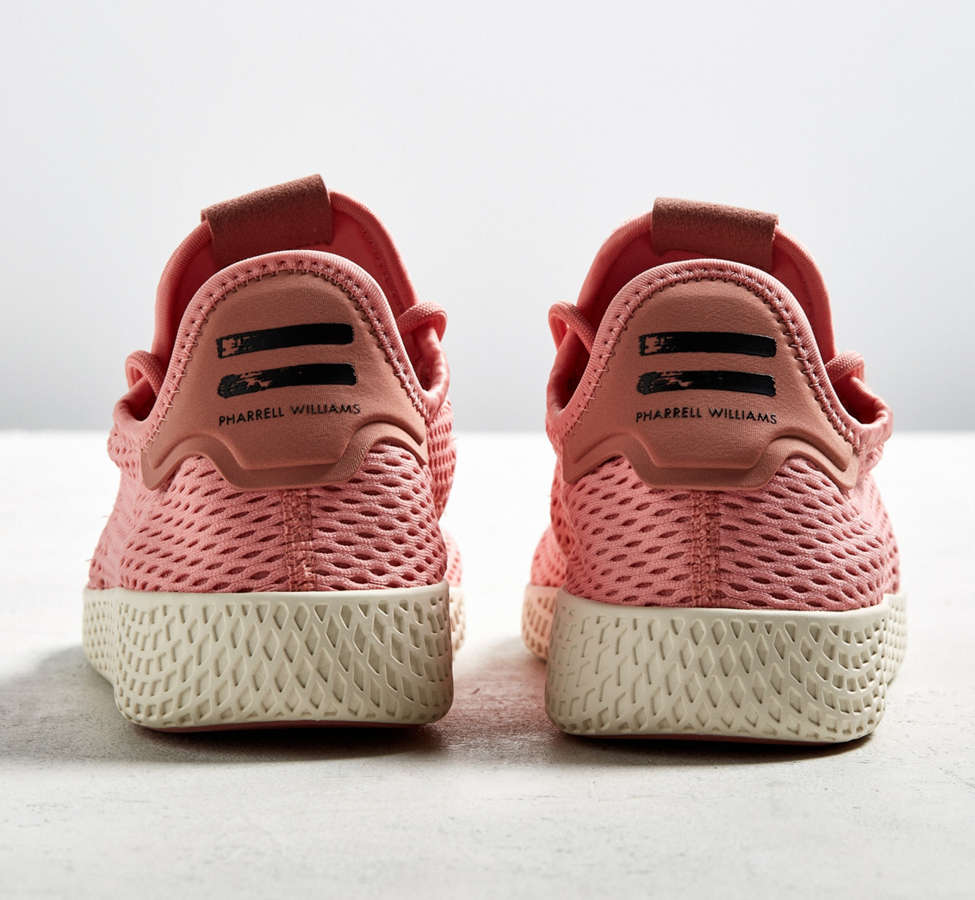 Slide View: 5: adidas Pharrell Williams Tennis HU Pastel Sneaker