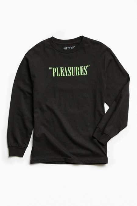PLEASURES Mark Beast Long Sleeve Tee