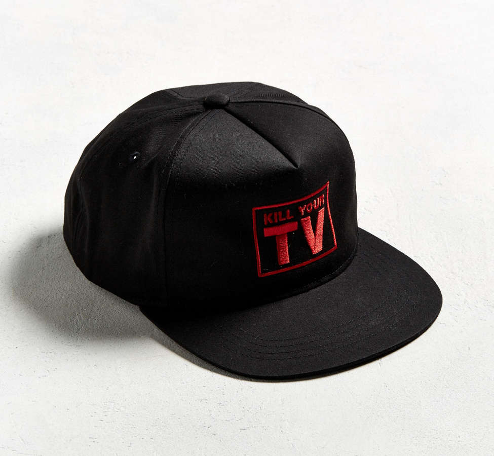 Slide View: 1: Casquette ajustable PLEASURES TV