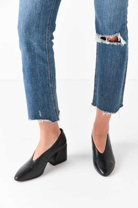 Vagabond Olivia Leather Curved Heel