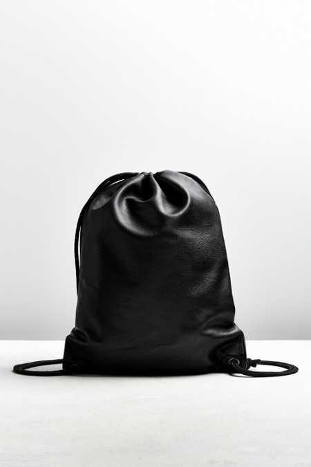 UO Faux Leather Cinch Backpack