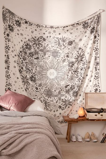 bedroom tapestry. Ioana Daisy Medallion Tapestry Tapestries  Urban Outfitters